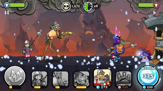 screenshot of Tower Conquest version 22.00.40g