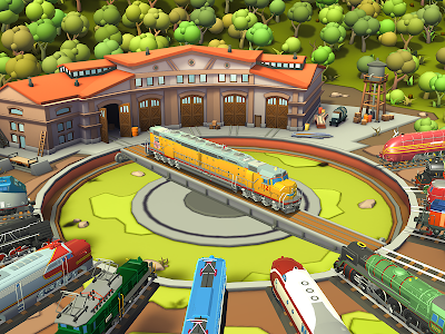 screenshot of Train Station 2: Rail Tycoon & Strategy Simulator version 1.22.1