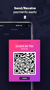 screenshot of TronWallet - P2P crypto wallet for TRON version 2.4.1