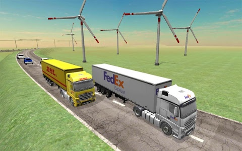 screenshot of Down Truck Simulator version 2.6