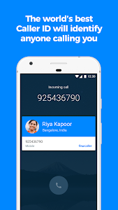 screenshot of Truecaller: Caller ID, spam blocking & Call Record version Varies with device