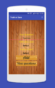 screenshot of Truth or Dare Pro version 1.3
