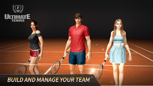screenshot of Ultimate Tennis version 2.8.2292