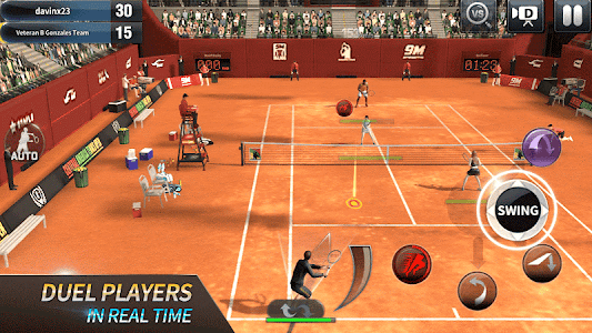 screenshot of Ultimate Tennis version 2.9.2300