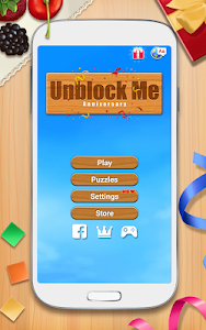 screenshot of Unblock Me FREE version 1.6.1.2