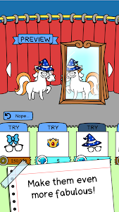 screenshot of Unicorn Evolution - Fairy Tale Horse Game version 1.0.10