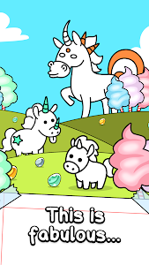 screenshot of Unicorn Evolution - Fairy Tale Horse Game version 1.0.9