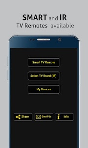 screenshot of Universal TV Remote Control version 1.0.71