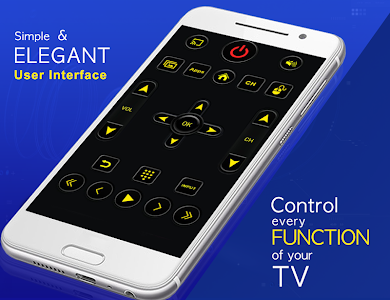 screenshot of Universal TV Remote Control version 1.0.36