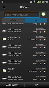 screenshot of Universal TV Remote-ZaZa Remote version 4.5.0