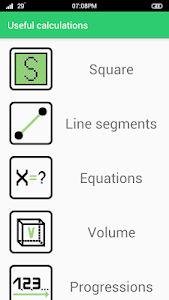 screenshot of Useful calculations - free calc version 1.1.1