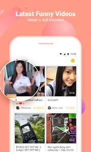 screenshot of VeeU – Funny Videos Community version 2.21.0