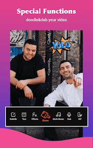 screenshot of Video Editor & Free Video Maker with Music, Images version 1.8.9