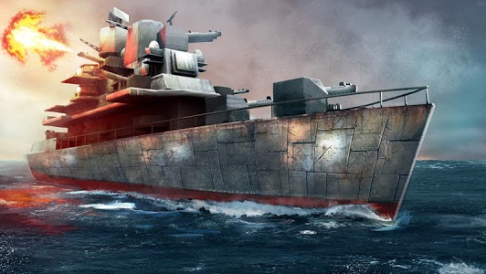 screenshot of Warship Strike 3D version 1.3