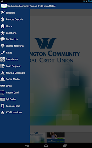 screenshot of CHROME Federal Credit Union version 1.0.30