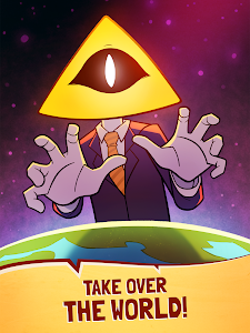 screenshot of We Are Illuminati - Conspiracy Simulator Clicker version 1.4.4
