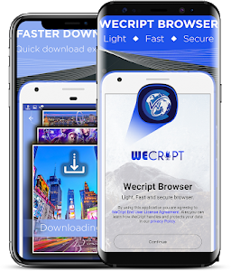 screenshot of Wecript- Incognito Browser & Fast video Downloader version 1.1.1.13