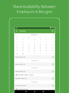 screenshot of When I Work Employee Scheduling version Varies with device
