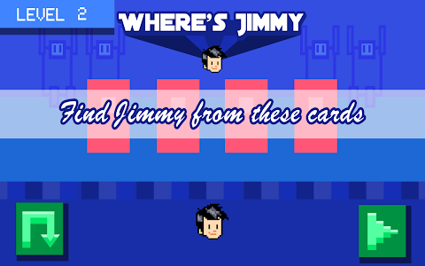 screenshot of Where's Jimmy version 1