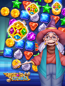 screenshot of Witch Crush Puzzle version 1.2