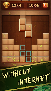 screenshot of Woody Puzzle Block version 1.4.9
