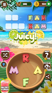 screenshot of Word Beach: Connect Letters, Fun Word Search Games version 1.1.17