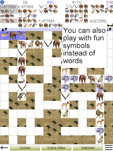 screenshot of Word Fit Puzzle version 2.8.2