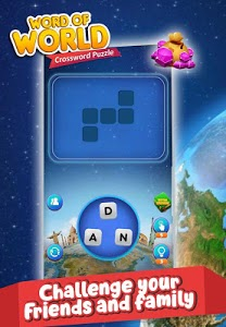 screenshot of Word of World - Crossword Puzzle Game Free version 1.1
