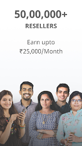 screenshot of Work from Home, Earn Money, Resell with Meesho App version 5.2.3