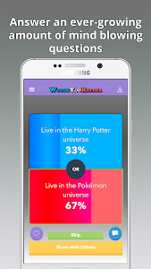 screenshot of Would You Rather? version 1.12