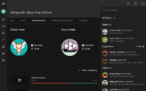 screenshot of Xbox version 1906.0627.0045