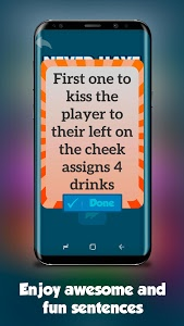 screenshot of Drink Extreme (Drinking games) version 3.5
