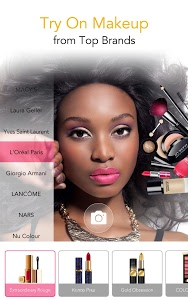 screenshot of YouCam Makeup - Magic Selfie & Virtual Makeovers version Varies with device
