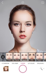 screenshot of YouCam Makeup: Selfie Makeover version Varies with device