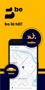 screenshot of be - Vietnamese ride-hailing app version 1.6.2