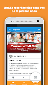screenshot of mi.tv - Programación de TV version 1.0.367